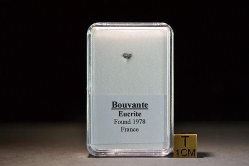Bouvante - Eucrite - found 1978 in France - micro fragment - 0.014 g