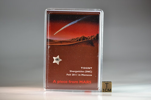 Tissint - Martian Shergottite - fell 2011 in Morocco - small fragment - 36 mg