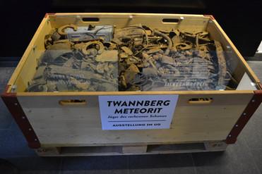 Twannberg trash at exhibition