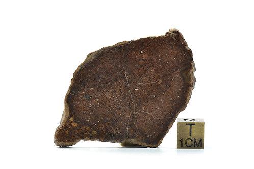 NWA 6059 - Chondrite L6 - found 2009 in NW Africa TKW 108 g full slice - 14.32 g
