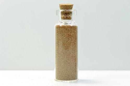 SAHARA SAND sample - Western Sahara - Morocco - brown color - 9 g