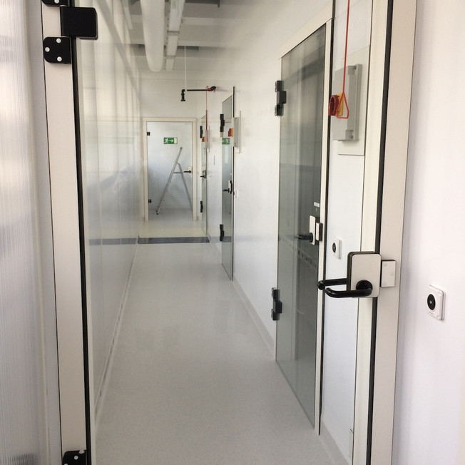 High secured Chemical Lab