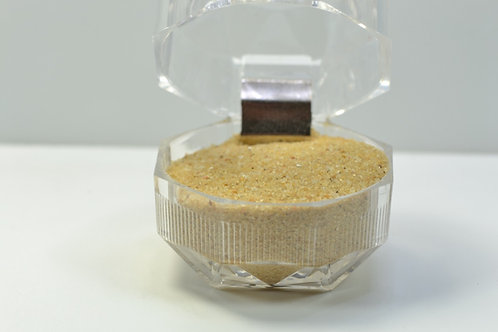 SAHARA SAND sample - White Desert Egypt - Farafra - yellow color - 23 g