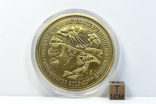 Meteorite Ensisheim - Anniversary medal - 20 years Ensisheim show - one of 300!