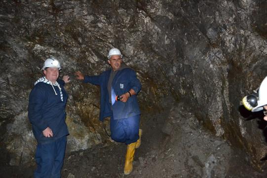 Trepca Mine Visit 2012