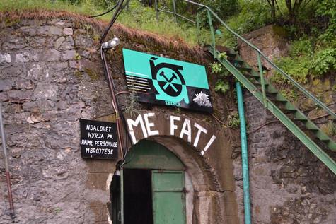 Trepca Mine Visit 2012 - good luck