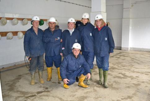 Trepca Mine Visit 2012 - the miners