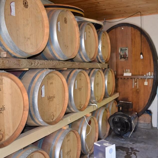 Klötzli wine cellar