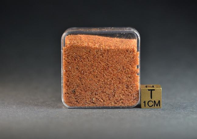 Gilf Kebir Egypt red sand sample