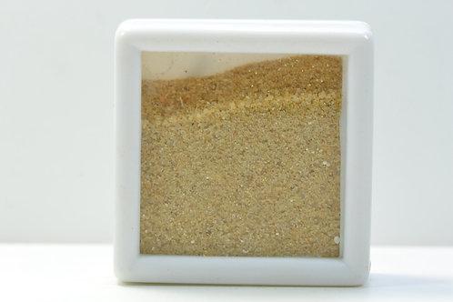 SAHARA SAND sample - White Desert Egypt - Farafra - yellow color - 17 g