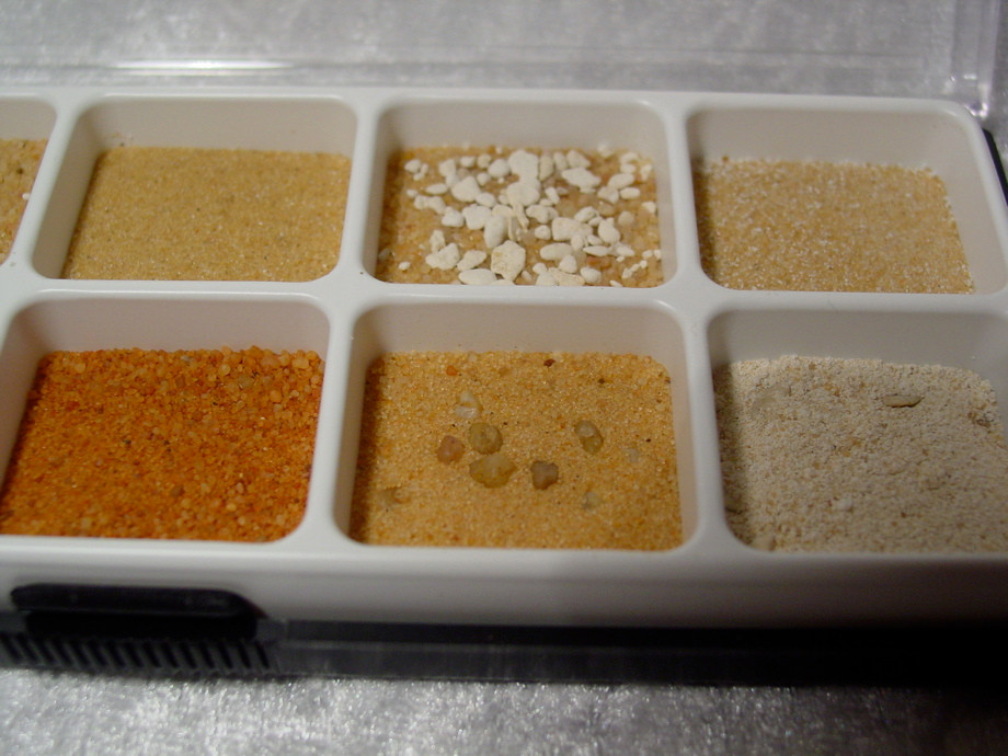 Desert Sand sample set