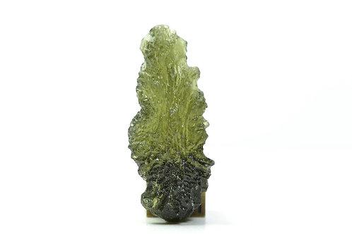 Rare Natural Moldavite Individual - Tektite - Czeck Repuplic TOP quality 3.2 g