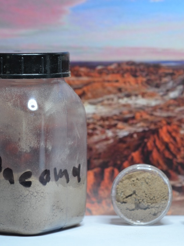Atacama sand sample