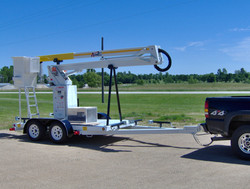 ArmLift Model A38 Insulated Articulating Trailer Mounted
