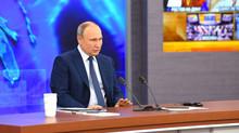 Обзор пресс-конференции Владимира Путина
