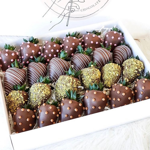 Purely Chocolate Double Dozen