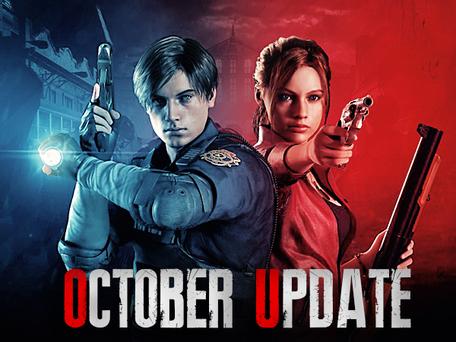 OCTOBER/NOVEMBER UPDATE