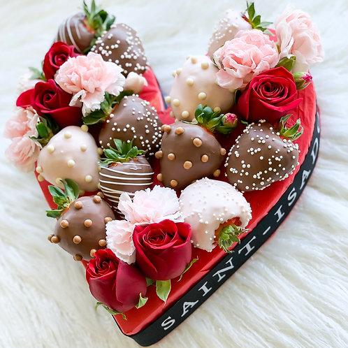 Mini Heart Bouquet