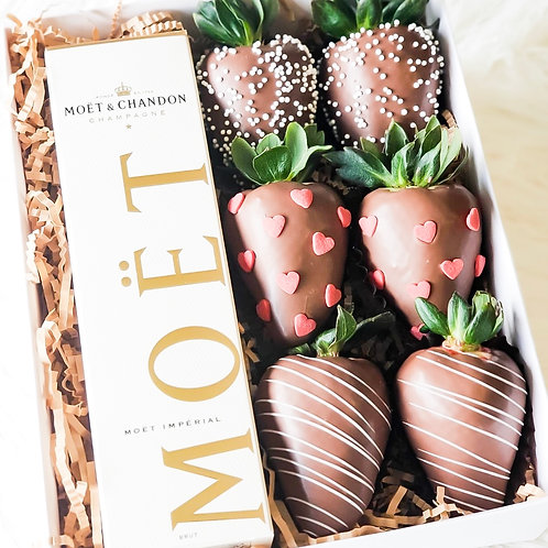 Champagne Strawberry Box