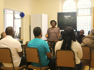 Interative session with Hestia Charity