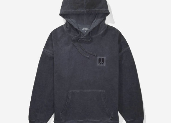 Saturdays NYC GRANDE PEACE Washed Hoodie | viridian
