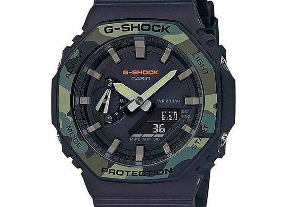 Casio G-Shock GA2100SU-1A Watch | camo/black