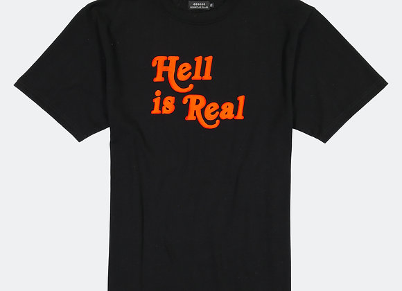 Apostle Club HELL IS REAL T-Shirt | black