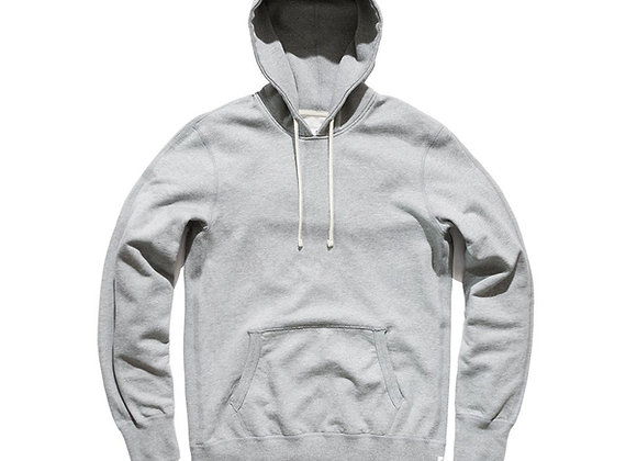 Reigning Champ Knit Terry Pullover Hoodie | heather grey