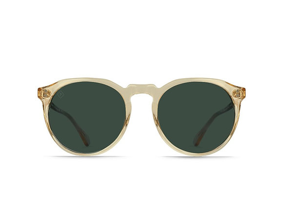 Raen REMMY Polarized Sunglasses | champagne/crystal green