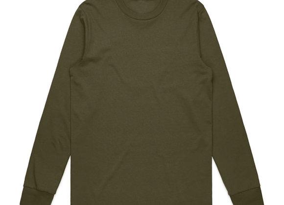 Evolve CORE Premium Long-Sleeve T-Shirt | combat green