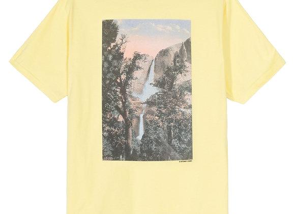 Stussy FALLS S/S T-Shirt   lemon