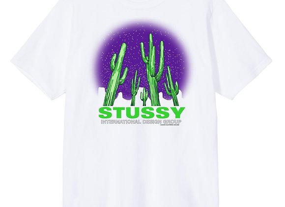 Stussy SAGUARO T-Shirt   white