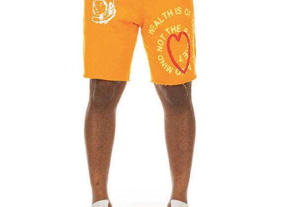 Billionaire Boys Club BB MINDFULNESS Shorts | flame orange