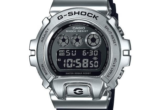 G-Shock GM6900-1 Metal Series Watch | silver/black
