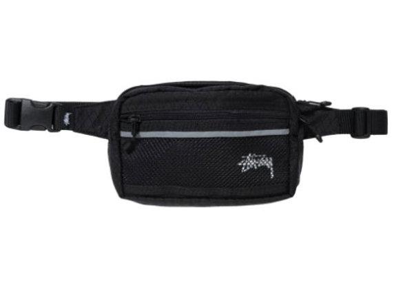 Stussy DIAMOND RIPSTOP Waist Bag | black