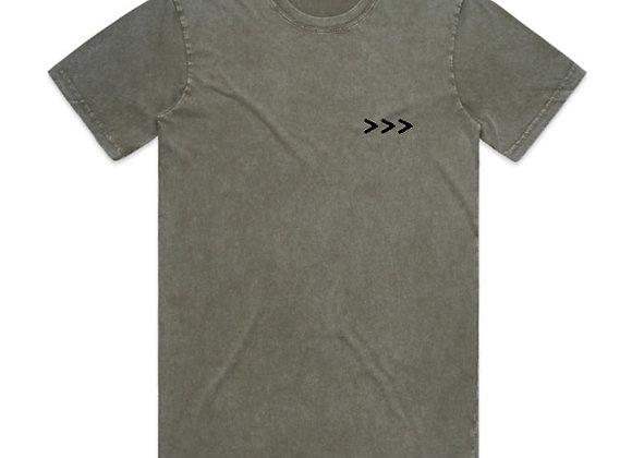 Evolve the Brand VINTAGE WASH T-Shirt   vintage moss