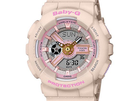 G-Shock BA-110PKC-4A Baby G X Pikachu Watch | white