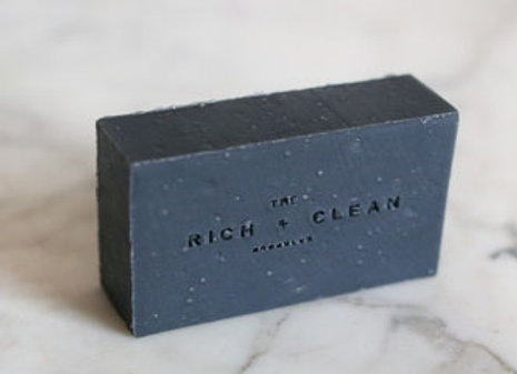 the Rich & Clean No. 9 JAPANESE PEPPERMINT Bar Soap
