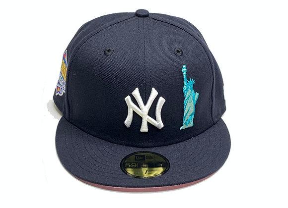 New Era NY YANKEES CUSTOM 1999 World Series 59Fifty Fitted Hat | navy