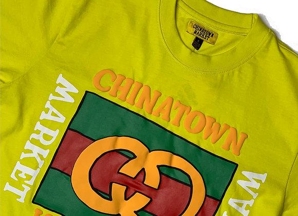 Chinatown Market Designer T-Shirt | yellow/gold
