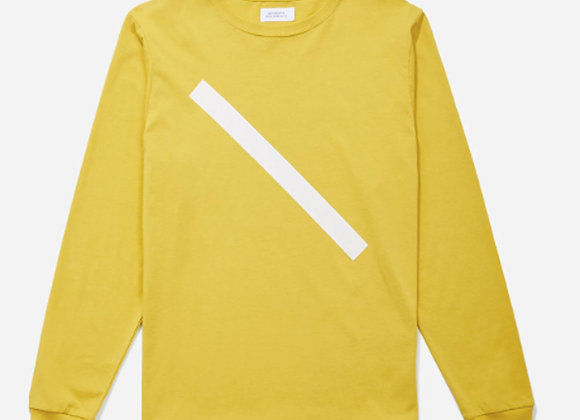 Saturdays NYC SLASH L/S T-Shirt | goldenrod