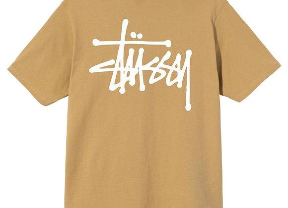 Stussy BASIC STUSSY T-Shirt   khaki