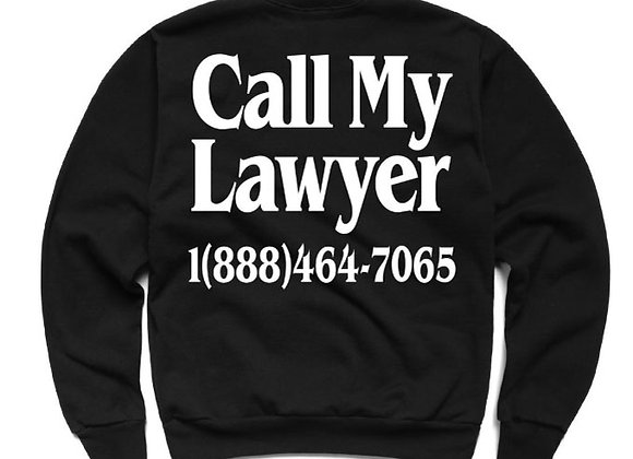 Chinatown Market LEGAL SERVICES Sweatshirt | black