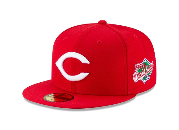 New Era CINCINNATI REDS 1990 World Series  5950 Hat   red