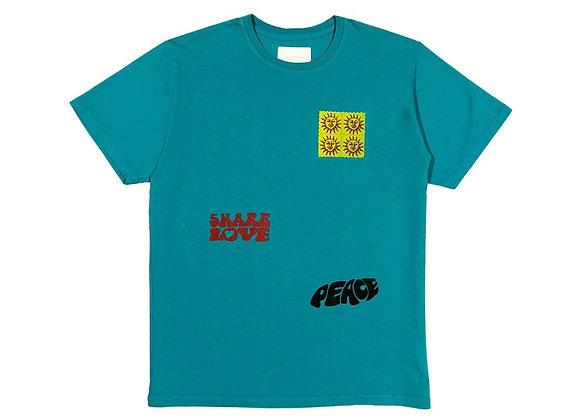 CRTFD SUNSHINE T-Shirt | teal