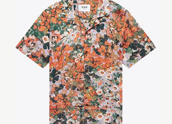Wax London DIDCOT Shirt   monet print/lilac