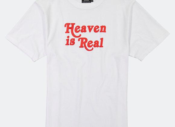 Apostle Club HEAVEN IS REAL T-Shirt | white