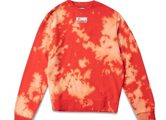 Billionaire Boys Club STRAIGHT FONT Knit Crew | flame scarlett red