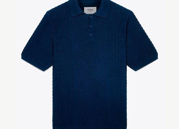 Wax London NAPLES Polo Shirt | navy