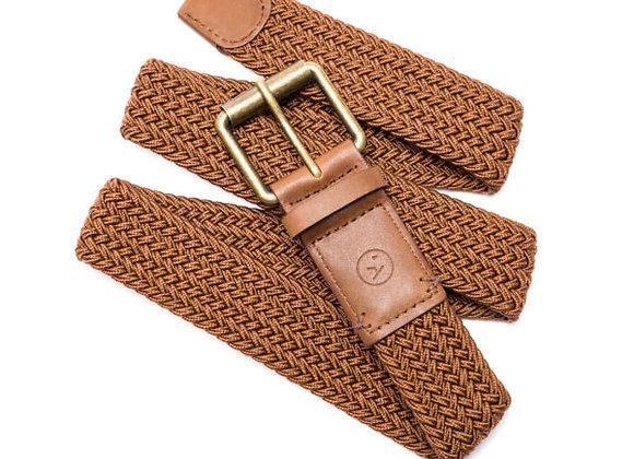 Arcade Smartweave Belt | brown/caramel